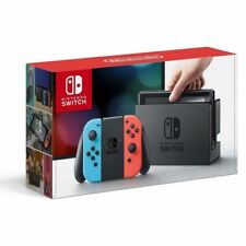 CONSOLA NINTENDO SWITCH RED&BLUE CONSOLA BASE 2 MANDOS JOY-CON 2 CORREAS