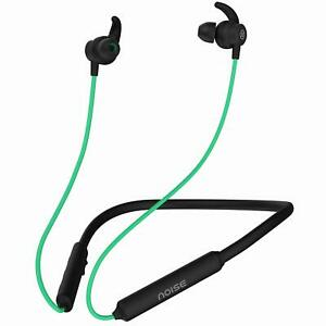 Latest Noise Tune Active Wireless Neckband Headphones Mic Green  for Unique gift