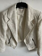 Primark ladies smart cream jacket size 12