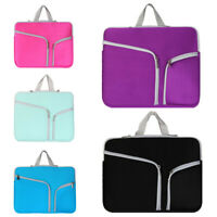 Sleeve Case Cover Handbag Laptop Bag For HP Lenovo Acer Dell MacBook Air Pro