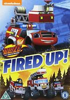 Blaze And The Monster Machines: Fired Up! [DVD][Region 2]