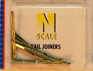 NEW N Atlas 2535 Code 80 Nickel Silver Rail Joiners 48 Ct