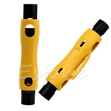 For RG59 RG6 RG7 RG11 Stripping Tool Coax Coaxial Cable Wire Pen Cutter Stripper
