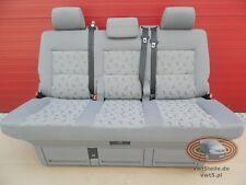 VW T5 Sitzbank Multivan Sitz Schlafbank seat bench Grey Grau LLL