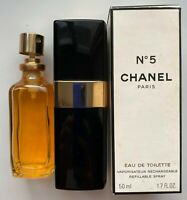 Chanel NO 5 EAU DE TOILETTE Spray 50 ml 1.7 FL OZ VINTAGE 1990S