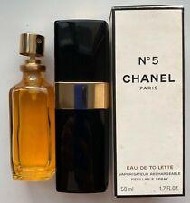 Chanel NO 5 EAU DE TOILETTE Spray 50 ml 1.7 FL OZ VINTAGE 1990S
