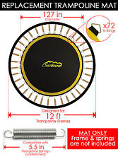 "SkyBound Premium 127"" Trampoline Mat w/72 V-Rings for SportsPower TR-126COM-GLZ"
