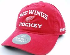 affcfb8a67a Detroit Red Wings Reebok ES20Z NHL Center Ice Slouch Hockey Cap Dad Hat