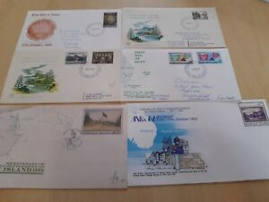 NORFOLK ISLAND  SELECTION OF PHILATELIC/ FIRST DAY COVERS(6)