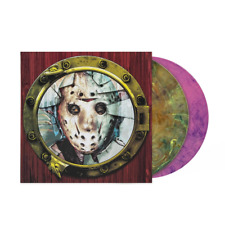 Fred Mollin  Friday The 13th Part VIII Jason Takes Manhattan Pink Green Vinyl LP