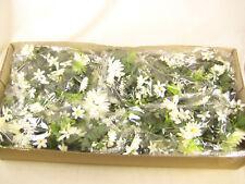 Wholesale Job Lot 48x Artificial Flowers Cream Gerbera Garlands Vine for Wedding