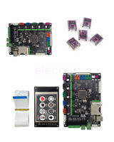 New MKS Robin STM32 3D Printer Control Board + 3.2' LCD Display + 5pcs DRV8825