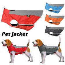 Waterproof Pet Dog Puppy Vest Jacket Dogs Clothes Outdoor Rain Coat UK