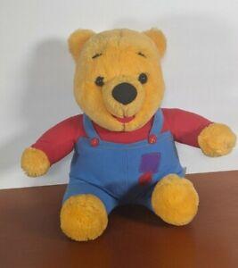 """Vintage 97 Disney Mattel Hug N Wiggle Nose Moves Talking Winnie The Pooh 15"""" VTG"""