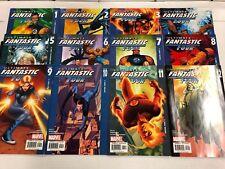 Ultimate Fantastic Four #1 2 3 4 5 6 7 8 9 10 11 12 Comic Book Set Marvel 2004