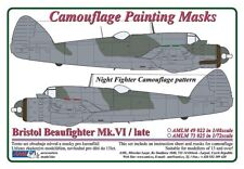 AML 1/72 Bristol Beaufighter Mk.VI / Late Night Fighter Camouflage Pattern Paint