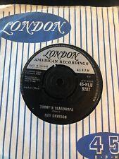 Roy Orbison Blue Angel / Todays Teardrops London / American HLU 9207 Excellent