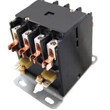 40 AMP DEFINITE PURPOSE CONTACTOR 4 Pole 120V Coil Lighting Heating 40A NEMA UL