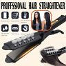 Four Gear Ceramic Tourmaline Ionic Flat Iron Hot Hair Straightener Glider US New