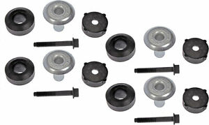 Kit of 4 Upper Lower Body Mount Kits - Dorman# 924-270 Fits 97-04 Wrangler