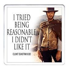 Clint Eastwood Cadeau Coaster. assorti tasse Disponible. peut être Personnalisé