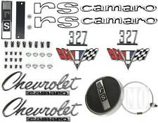 1967 Camaro RS 327 Emblem Kit With Gas Cap