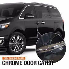 OEM Parts Exterior Front Door Catch Chrome Handle 1EA for KIA 2015 - 2017 Sedona