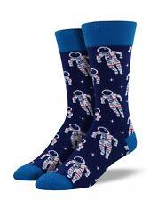 NEW Men's Socks ASTRONAUT cosmonaut Spaceflight Space Travel into Galaxies