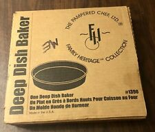 """PAMPERED CHEF REDUCED!!! Stoneware Deep Dish Baker 11"""""""