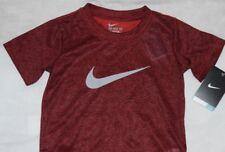 New Boy's burgandy Nike Dri-fit T-shirt  Size 4
