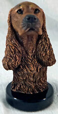 Bronze Limited Edition Cocker Spaniel Dog Sculpture by Kitty Cantrell  2500