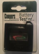 Rare Vintage 80s COOPERS OF STORTFORD Battery Tester 6156 in Original Packaging