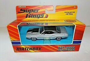 Matchbox Super Kings 1971 Dodge Challenger Diecast Car    (2005)