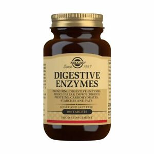 Solgar Digestive Aid Enzymes Tablets 100 support digestion