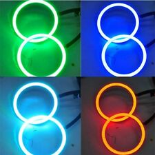 2x Car LED Ring Waterproof RGB LED Angel Eyes COB Light 120MM Remote Control