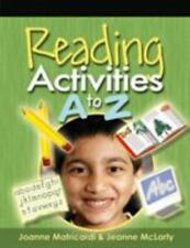 Reading Activities A to Z, Matricardi, Joanne, McLarty, Jeanne, Good Book