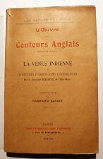 CURIOSA/LA VENUS INDIENNE/CONTEURS ANGLAIS/BIBL DES CURIEUX/1913/APOLLINAIRE