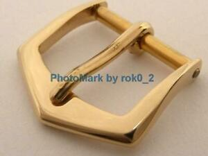 PATEK PHILIPPE 18K, 18KT, 18ct SOLID YELLOW GOLD 13mm TANG PIN BUCKLE CLASP NICE