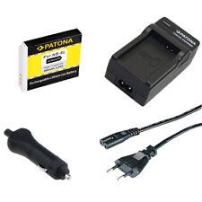 Batteria Patona + caricabatteria casa/auto per Canon PowerShot SX500IS,SX510HS