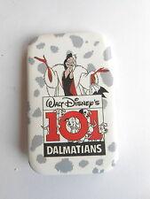 Cool Vintage Walt Disney 101 Dalmatians Movie Promo Advertising Pinback