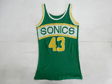 SEATTLE SUPERSONIC VINTAGE CANOTTA BASKET NBA JERSEY SHIRT RARE