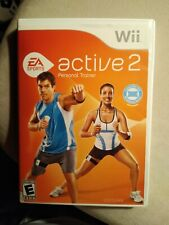 EA Sports Active 2 Personal Trainer (Nintendo Wii, 2010) - Excellent!