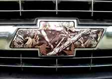 CAMO Chevy Bowtie Emblem Overlay Insert 1 Front Precut Silverado Tahoe Avalanche
