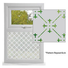 Etched Glass Effect Window Film, Victorian Styles, Window Pattern LINLEY DESIGN