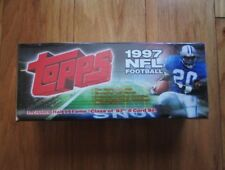 1997 Topps Complete Factory Sealed Football Set