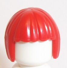 Lego Short Bob Female Hair x 1 Red for Minifigure