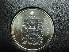 2005 Canadian Specimen 50 Cent ($0.50)