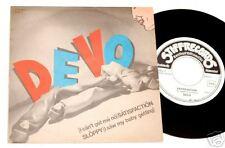 """DEVO:7""""SATISFACTION(ROLLING STONES)ORIG.ITALY 1978 EX++"""