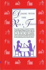Dining With The Rich & Famous Cookbook JOHN CLEESE PAUL HOGAN Hardcover Recipes