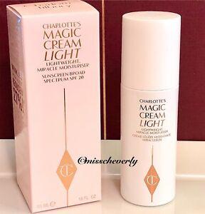 CHARLOTTE TILBURY Magic Cream LIGHT 50ml/1.6oz SPF 20 Lightweight Moisturizer
